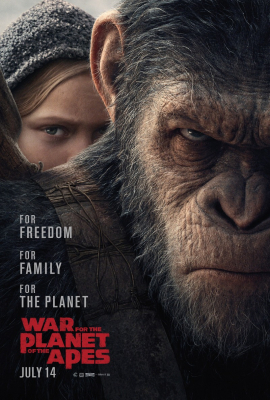 War for the Planet of the Apes มหาสงครามพิภพวานร ภาค4 (2017)